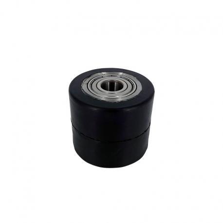 Rolki aluminiowo - gumowe 70 mm x 60 mm