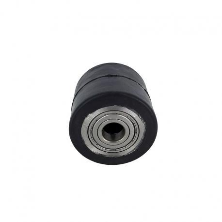 Rolki aluminiowo - gumowe 70 mm x 70 mm