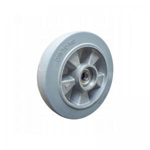 Koło aluminiowo - gumowe niebrudzące fi 200 mm