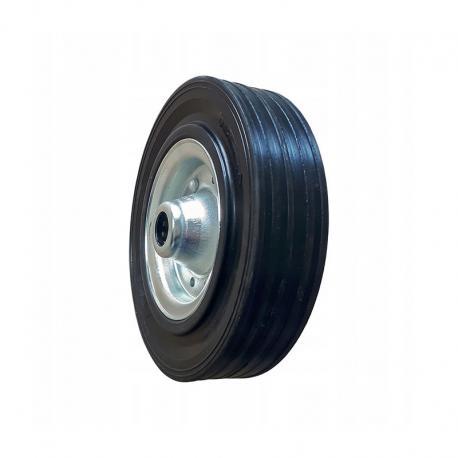 Koło metalowo - gumowe fi 180 mm