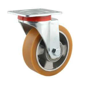 Zestaw obrotowy aluminium poliuretan fi 125 mm