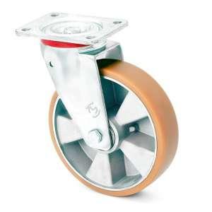 Zestaw obrotowy aluminium poliuretan fi 200 mm - 600kg