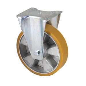 Zestaw kołowy stały aluminium poliuretan fi 200 mm