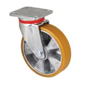 Zestaw obrotowy aluminium poliuretan fi 125 mm - 500kg