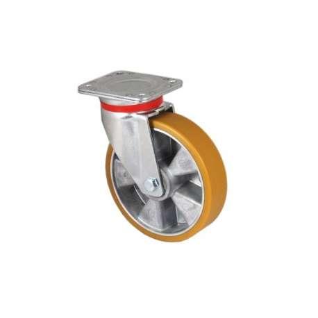 Zestaw obrotowy aluminium poliuretan fi 160 mm
