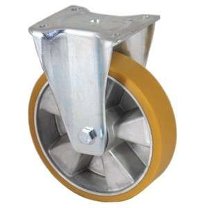 Zestaw stały aluminium poliuretan fi 160mm - 600kg