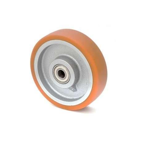 Koło żeliwno-poliuretanowe fi 160 mm