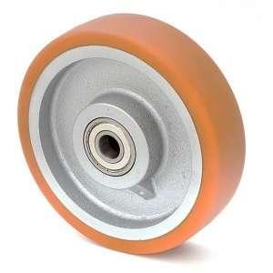 Koło żeliwno-poliuretanowe fi 350 mm, 2200 kg