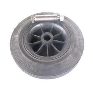 Koło poliamidowo -gumowe fi 200 mm ślizg