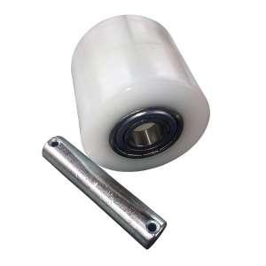 Rolka poliamidowa 80 mm x 70 mm - wózek paletowy