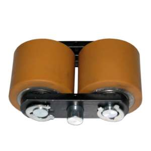 Uchwyt rolek stalowo-poliuretanowych fi 80 mm x 70 mm