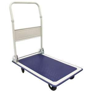 Wózek platformowy ze składaną rączką, 150kg