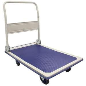 Wózek platformowy ze składaną rączką, 300 kg