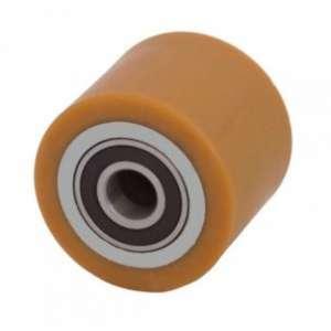 Rolka stalowo- poliuretanowa 82 mm x 60 mm