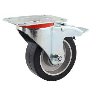 Zestaw obrotowy z hamulcem aluminium guma fi 80