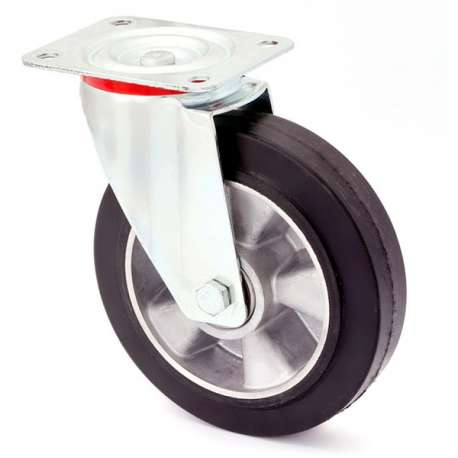 Zestaw obrotowy aluminium-guma fi 250 mm