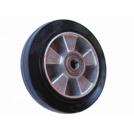 Koło aluminiowo-gumowe fi 200 mm