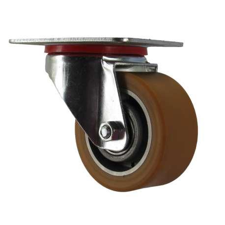 Zestaw obrotowy aluminium-poliuretan fi 80