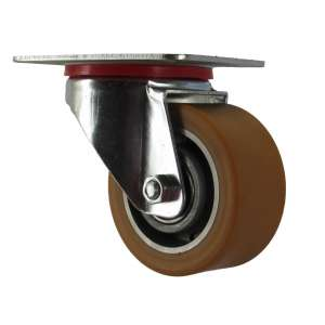 Zestaw obrotowy aluminium-poliuretan fi 100
