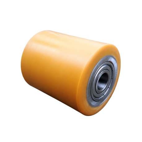 Rolka stalowo - poliuretanowa 85 mm x 100 mm do wózka paletowego