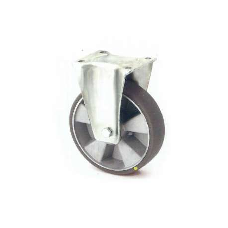 Koło antystatyczne fi 80 mm na widelcu stałym