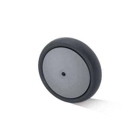 Koło polipropylenowo - gumowe fi 80 mm