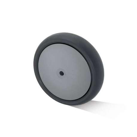 Koło polipropylenowo - gumowe fi 125 mm