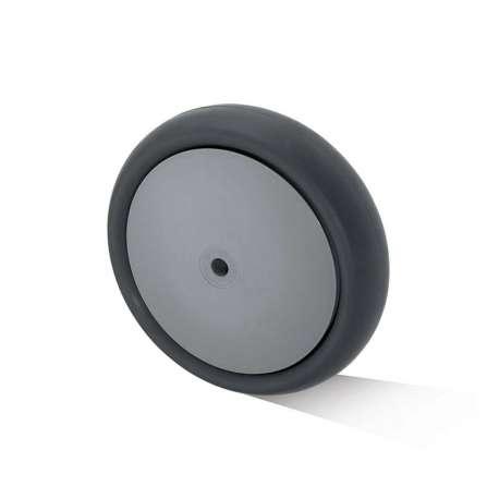 Koło polipropylenowo - gumowe fi 160 mm