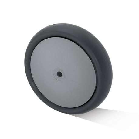 Koło polipropylenowo - gumowe fi 200 mm