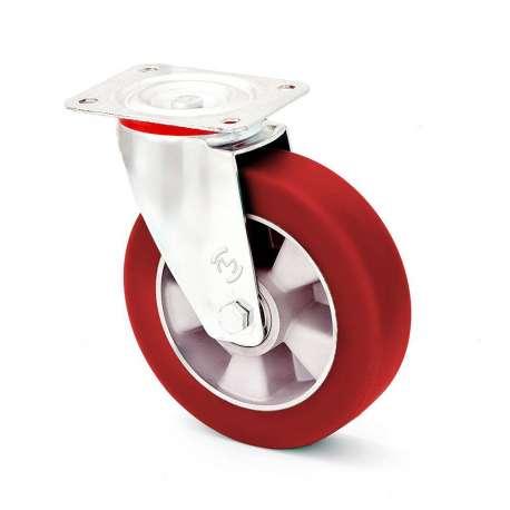 Zestaw obrotowy z miękką bieżnią poliuretanową fi 100 mm