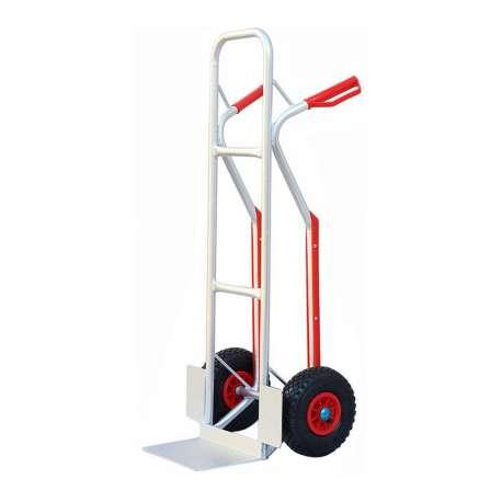 Wózek magazynowy młynarka aluminiowy dwukołowy 200 kg