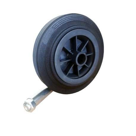 Koło poliamidowo -gumowe fi 160 mm ślizg