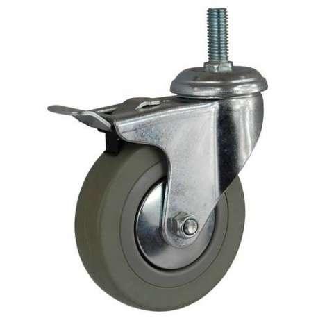 Kółka z trzpieniem gwintowanym fi 50 mm