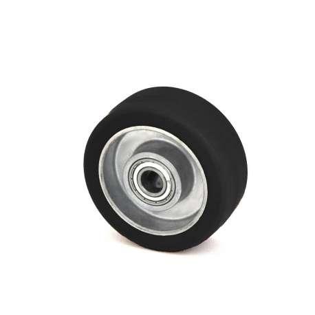 Koło aluminiowo-gumowe fi 80 mm