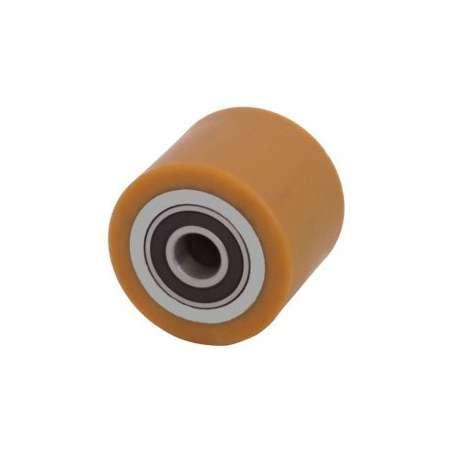 Rolka stalowo-poliuretanowa 70 mm x 70 mm