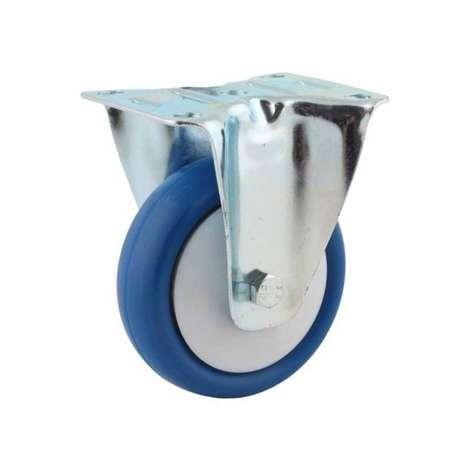 Koło poliamidowo - poliuretanowe 80 mm z widelcem stałym