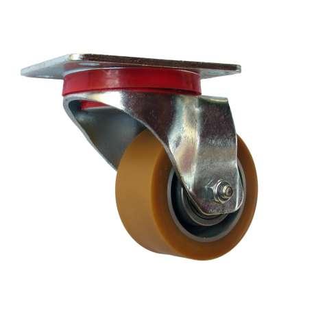 Zestaw obrotowy aluminium poliuretan fi 80 mm