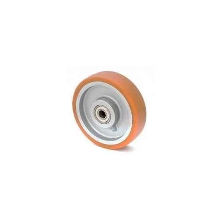 Koło żeliwno-poliuretanowe fi 200 mm