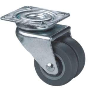 Zestaw obrotowy poliamid guma szare fi 50 podwójne