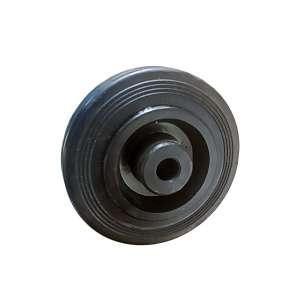 Koło poliamidowo - gumowe fi 100 mm ślizg