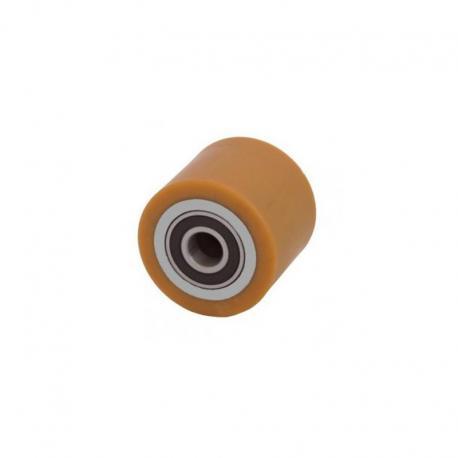 Rolka stalowo - poliuretanowa 80 mm x 50 mm